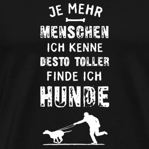 Tolle Hunde - Männer Premium T-Shirt