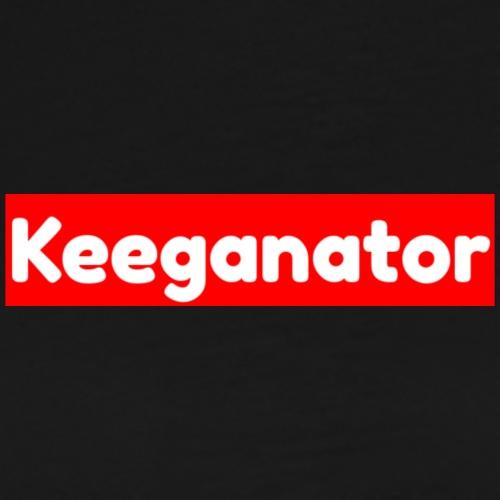 Keeganator box logo - Men's Premium T-Shirt