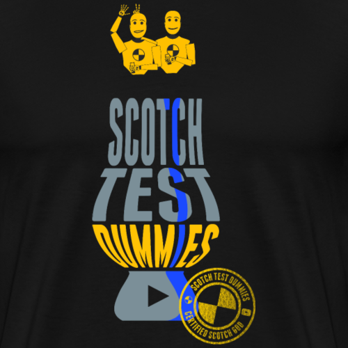 Scotch Test Dummies - Glencairn Glass Design - Men's Premium T-Shirt