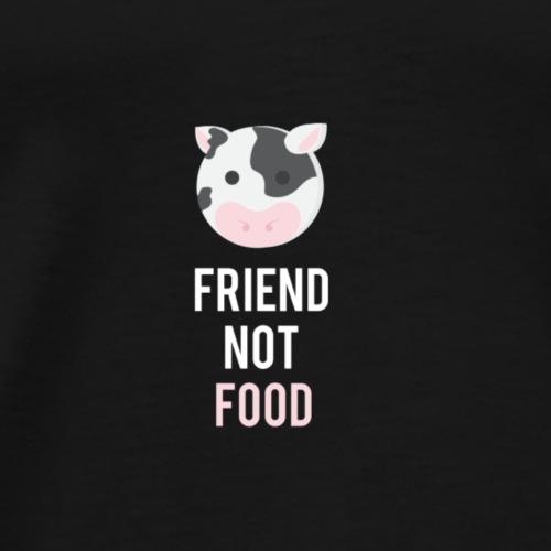 Vache 2 - Friend not food BEPA - T-shirt Premium Homme