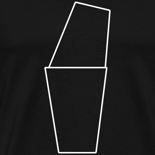 Basic Shaker White - Männer Premium T-Shirt