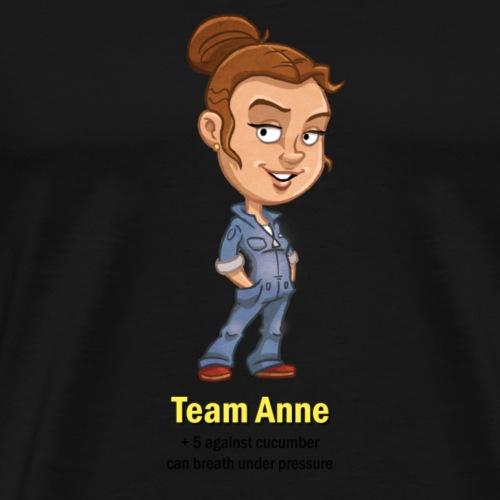 T ShirtMotiv Team Anne (Schwarze Schrift) - Männer Premium T-Shirt