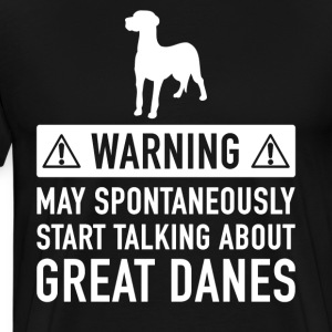 Funny Dane Gift Idea - Men's Premium T-Shirt