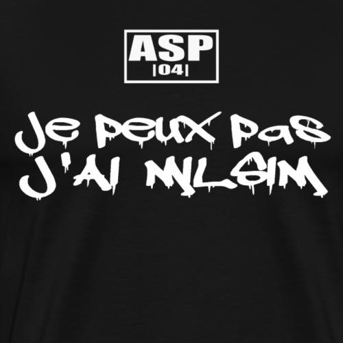 J'ai milsim white - T-shirt Premium Homme