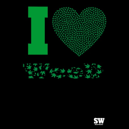 I Love weed - T-shirt Premium Homme