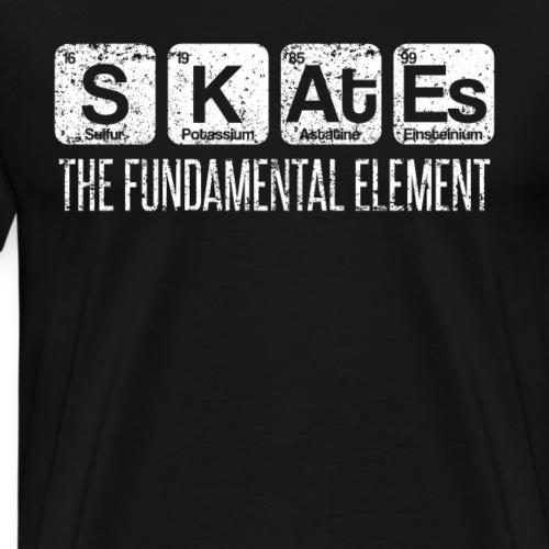 Skates The Fundamental Element Periodic Table - Männer Premium T-Shirt