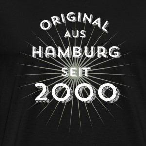 Original from Hamburg since 2000 - Men's Premium T-Shirt