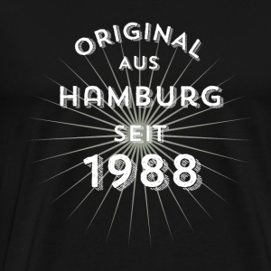 Original from Hamburg since 1988 - Men's Premium T-Shirt