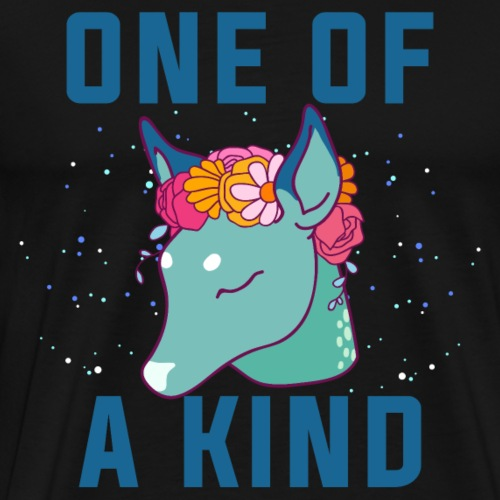 One of a kind.Unique Dow.Magical Gifts.Deer. Foal - Men's Premium T-Shirt