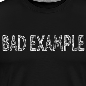 BAD EXEMPLE - T-shirt Premium Homme