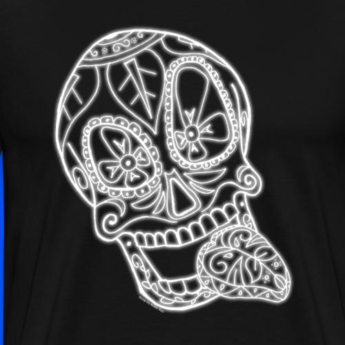 Squelette délire - Blanc (Spécial Halloween) - T-shirt Premium Homme