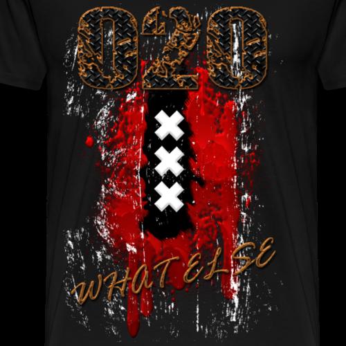 020 What else metal vintage - Mannen Premium T-shirt