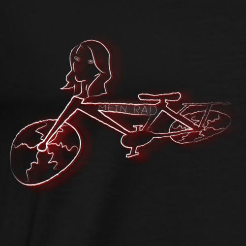 Rad solo - Männer Premium T-Shirt