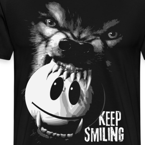 Keep Smiling - Männer Premium T-Shirt