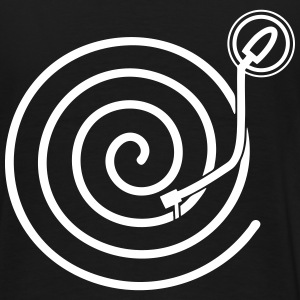 Turntable spiral - Men's Premium T-Shirt