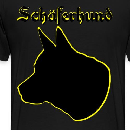 Schäferhund,Hundesport,Hundekopf,Hundefreunde,hund - Männer Premium T-Shirt