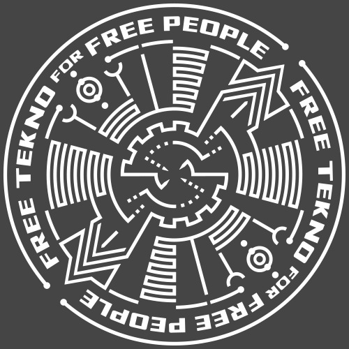 free tekno for free people - Men's Premium T-Shirt