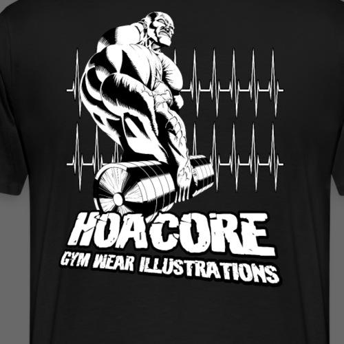 Hoacore - Gym Wear Illustrations - Männer Premium T-Shirt