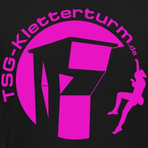 Druck Pink - Männer Premium T-Shirt