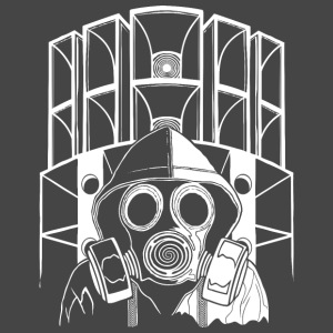 tekno 23 gas mask - Männer Premium T-Shirt