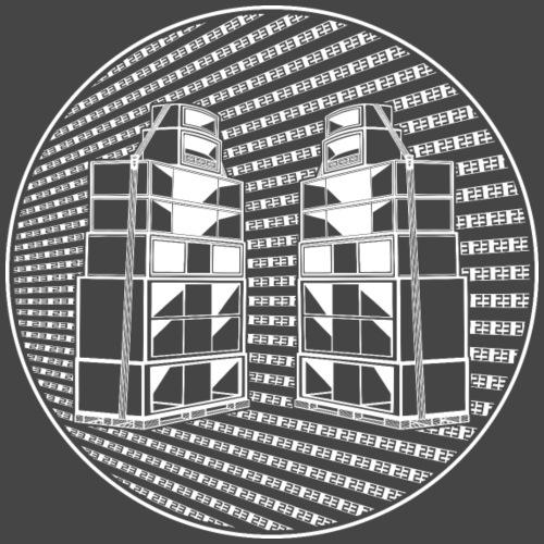 sistema de sonido tekno 23 23 23 23 - Camiseta premium hombre