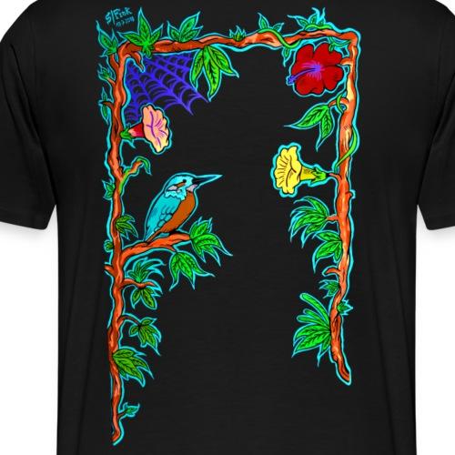 Eisvogel im Dschungel - Männer Premium T-Shirt