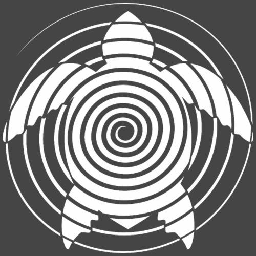 tortuga espiral 23 - Camiseta premium hombre
