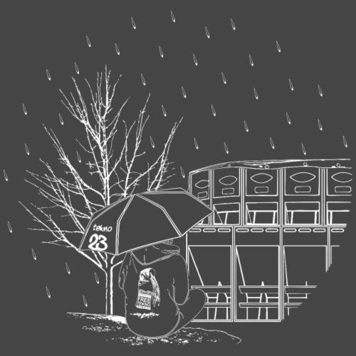 Bezpłatny deszcz - Koszulka męska Premium
