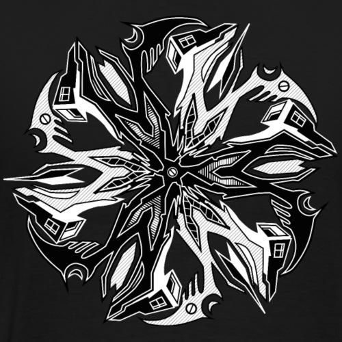 vulcanic mandala - Männer Premium T-Shirt