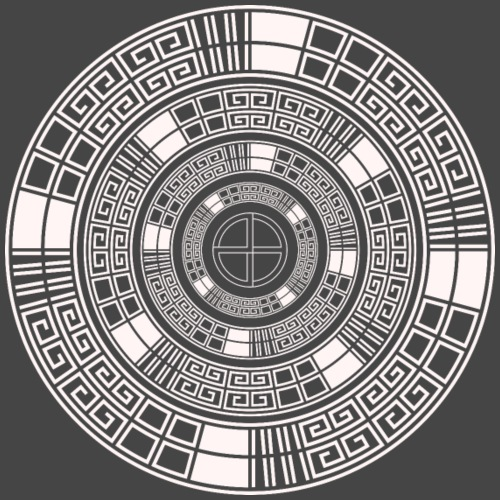 23 spiral tekno - Men's Premium T-Shirt
