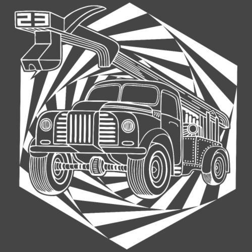 VRACHTWAGEN 23 - Mannen Premium T-shirt