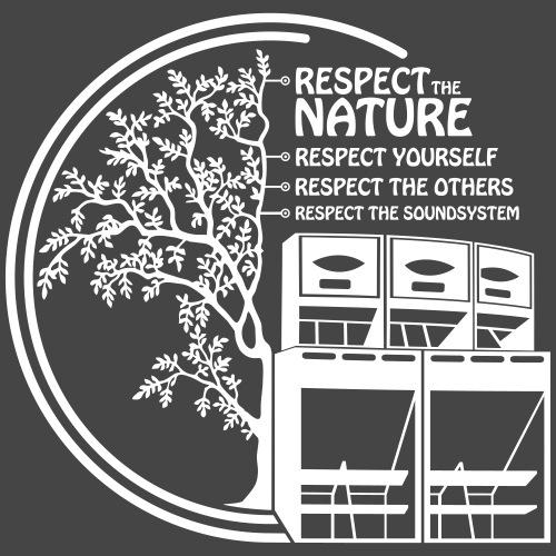 RESPETO LIBRE TEKNO 23 - Camiseta premium hombre