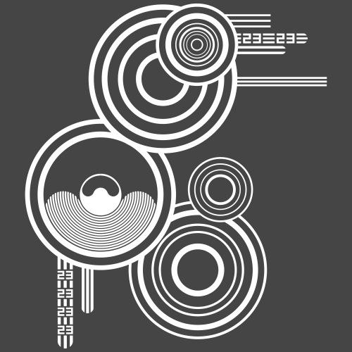 El círculo de sonido tekno 23 - Camiseta premium hombre