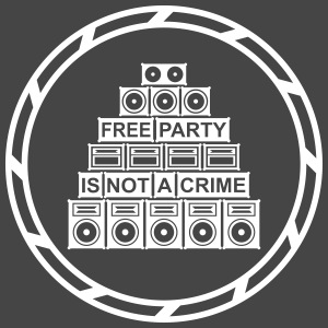 Free party is not a crime - Männer Premium T-Shirt