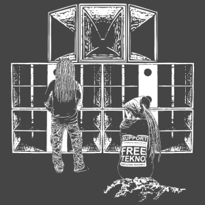 support free tekno - Männer Premium T-Shirt