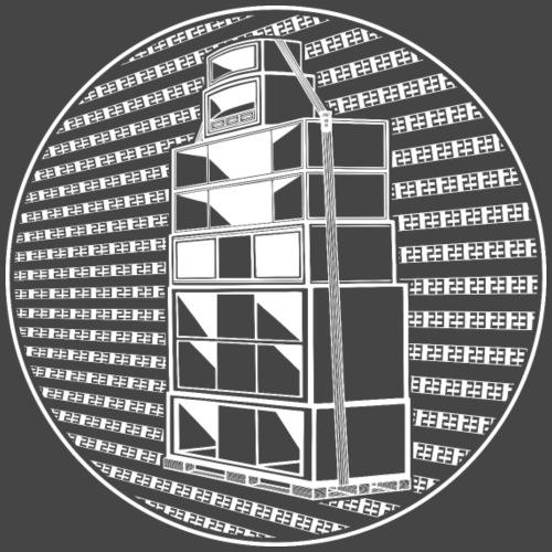 Sistema de sonido Tekno 23 23 23 - Camiseta premium hombre