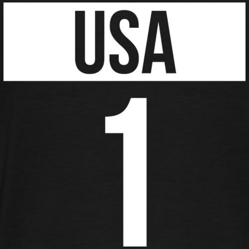 USA + Country Code - Premium-T-shirt herr