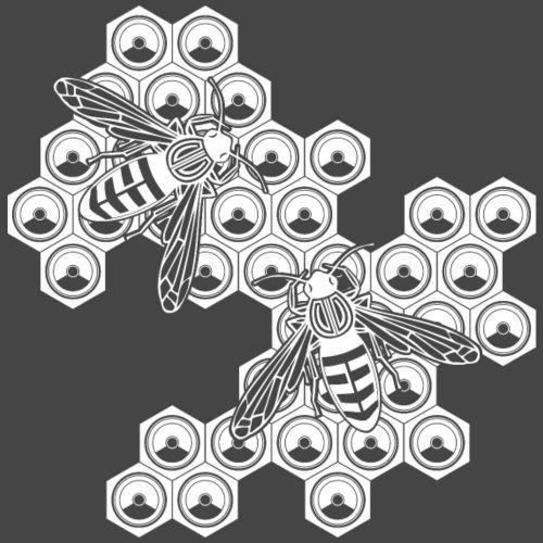 abeja gratis - Camiseta premium hombre