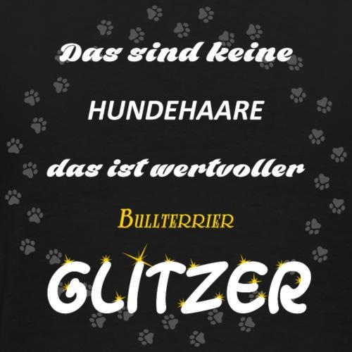 Bullterrier Glitzer 6OQ - Männer Premium T-Shirt
