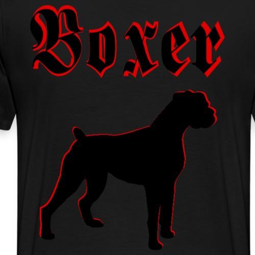 Deutscher Boxer,Hundekopf,Hundesport,Hundebesitzer - Männer Premium T-Shirt