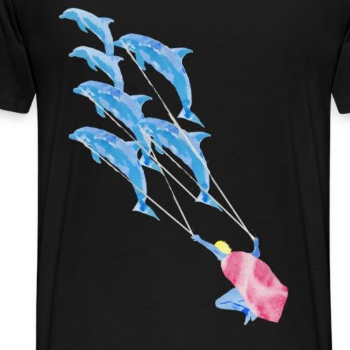 Der kleine Prinz im Ozean - Männer Premium T-Shirt