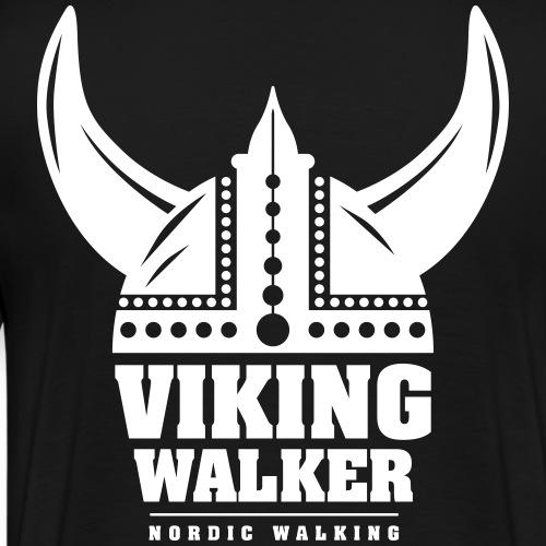 Nordic Walking - Viking Walker - Miesten premium t-paita