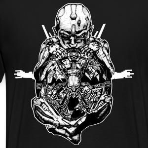 all alone in her nirvana - Männer Premium T-Shirt