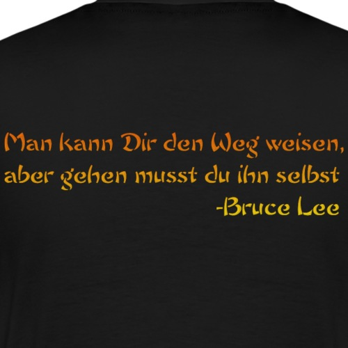 LeeZitat - Männer Premium T-Shirt
