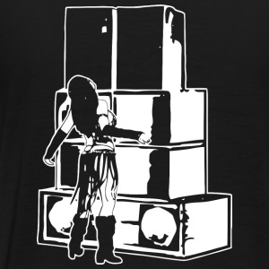 Soundsystem girl tekno 23 - Men's Premium T-Shirt