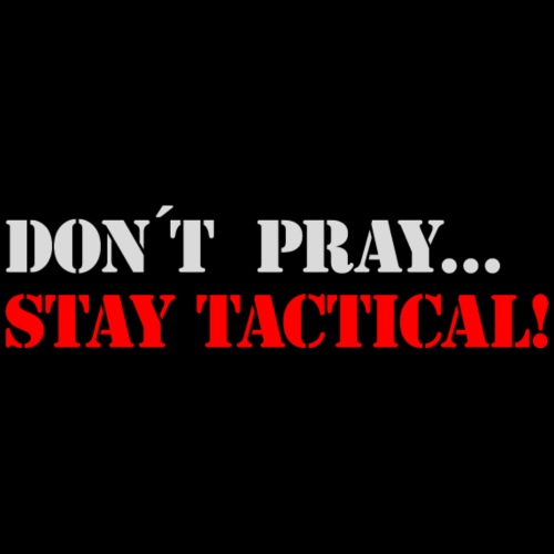 stay tactical b - Männer Premium T-Shirt