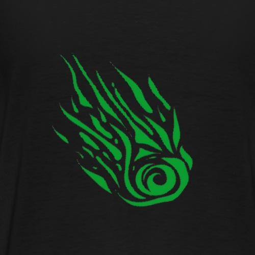 Komet schraeg - Männer Premium T-Shirt