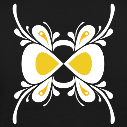 Butterfly White - Men's Premium T-Shirt