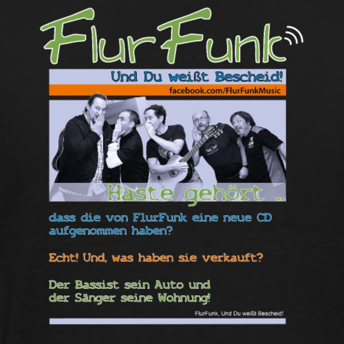 FlurFunk Fan T-Shirt Haste gehört - Männer Premium T-Shirt