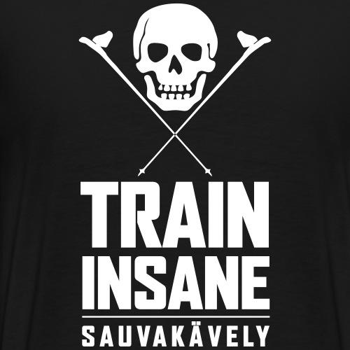 Sauvakävely - Skull t-shirt - Miesten premium t-paita